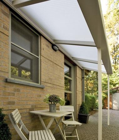 ᐅ Pergola sur mesure en alu avec toit rigide polycarbonate ...
